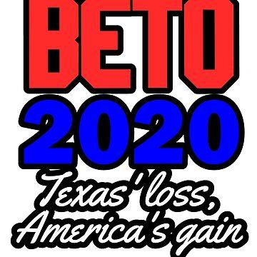 Beto 2020 Beto O'Rourke Campaign T shirt by focodesigns