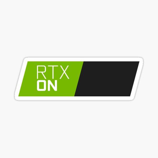 RTX ON Sticker