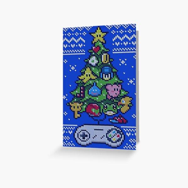 Gaming Christmas Greeting Card