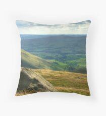 Edale: The Peak District Throw Pillow