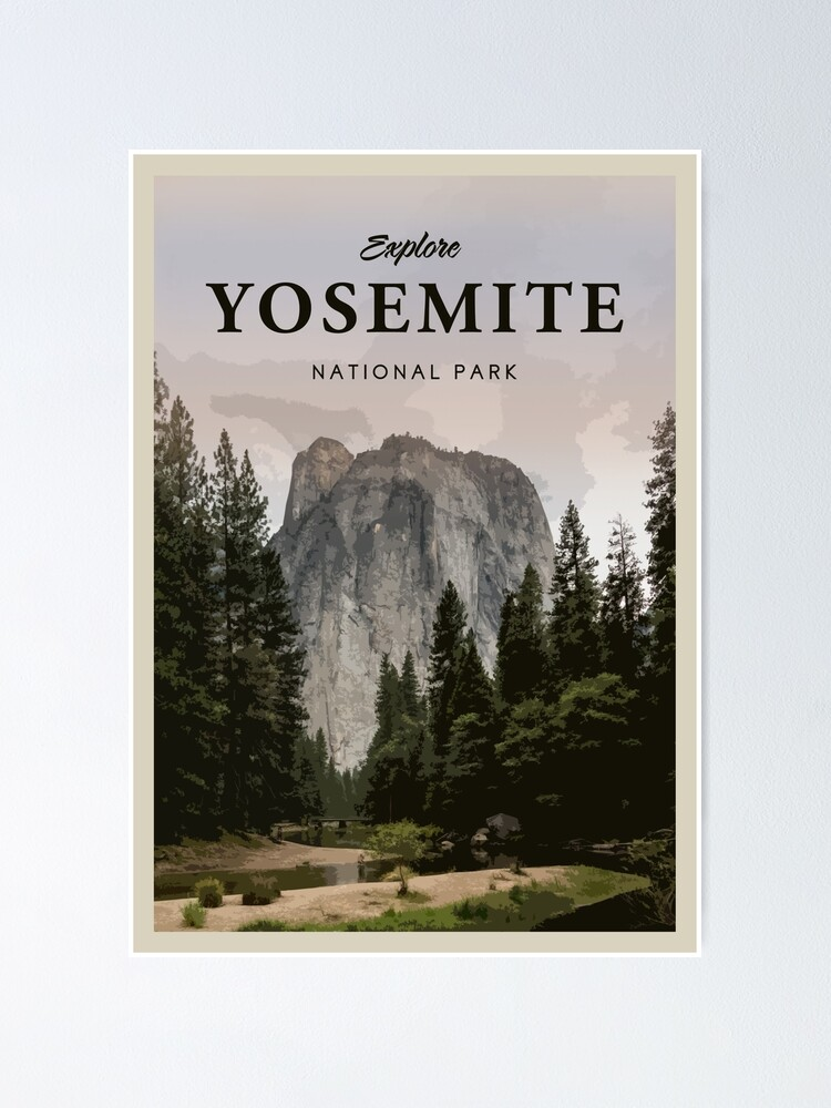 Alternate view of Yosemite National Park Poster