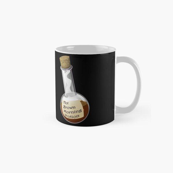 Hot Brown Morning Potion Classic Mug