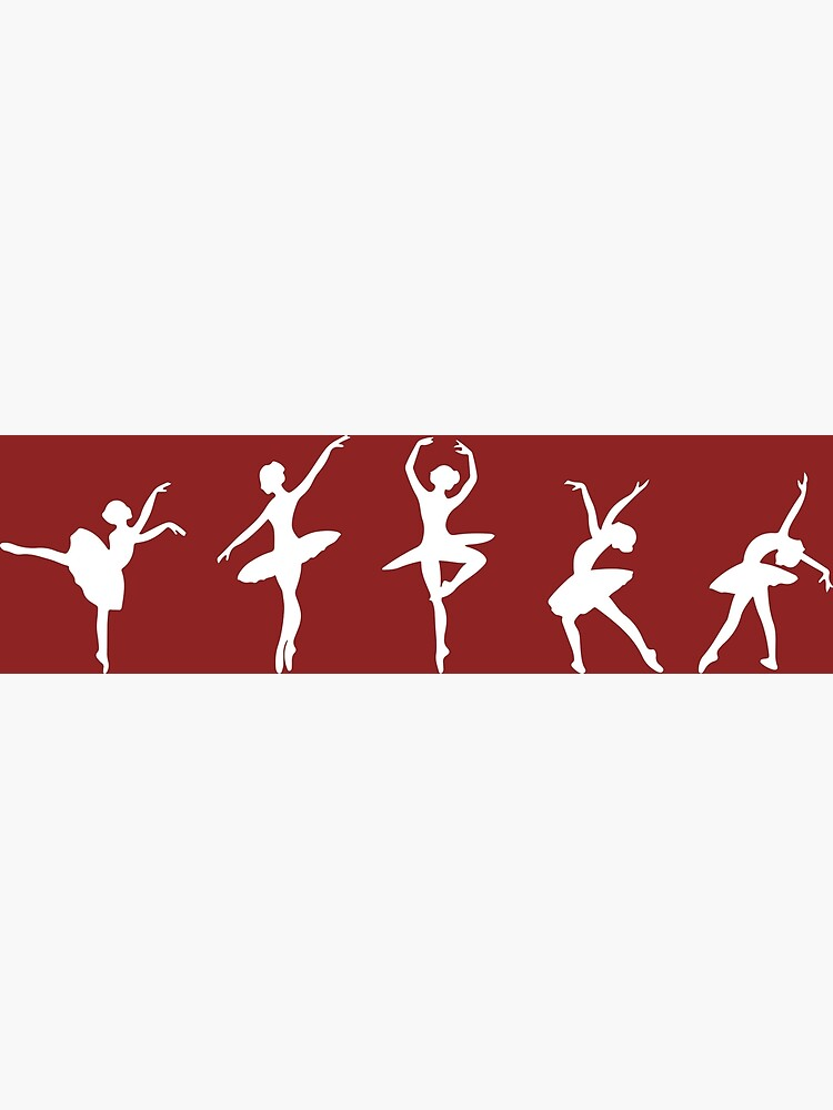 Ballet Evolution, Ballerina Dancer, Moves Artwork, Tshirts, Posters, Prints, Women, Men, Kids by clothorama