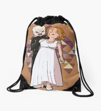 Buffy vs The Master Drawstring Bag