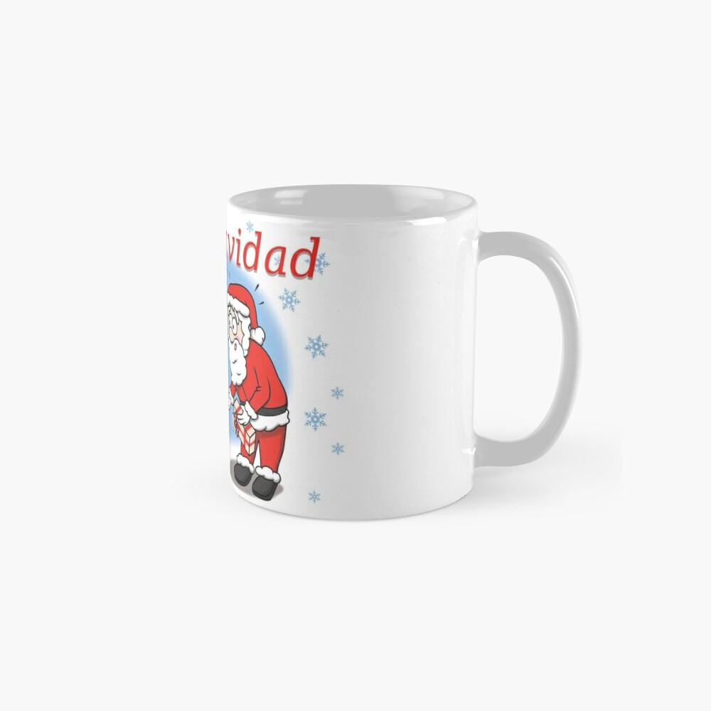 Christmas with Papa Noël Classic Mug