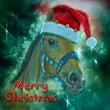 Horse Christmas card by Tarrby