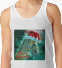 Horse Christmas card Tank Top