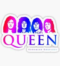Colorful Bohemian Rhapsody Queen  Sticker