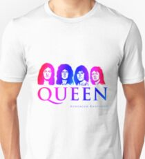 Colorful Bohemian Rhapsody Queen  Unisex T-Shirt