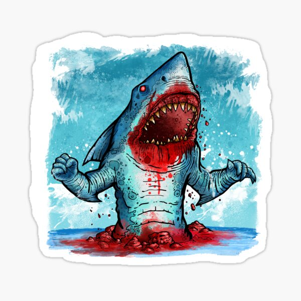 SHARK BOY Sticker