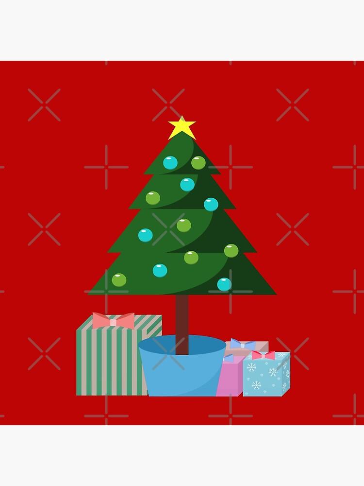 Weihnachtsbaum in Hülle und Fülle von YodellingGirl