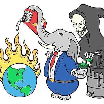 Denying Climate Change for Greed by bgilbert