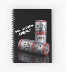 100% Natural (mock promo) Spiral Notebook