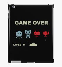 Game over retrogaming iPad Case/Skin