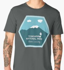 Tongariro National Park New Zealand Men's Premium T-Shirt