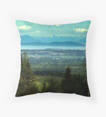 Courtenay and the Coast Throw Pillow