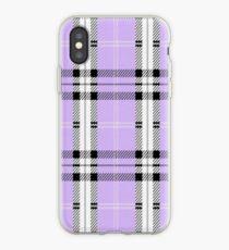 wildflower plaid phone case iPhone Case