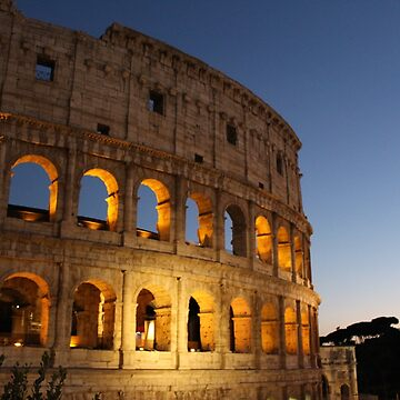 Colosseum at night by tacostudio