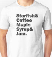 PRINCE Starfish & Coffee... Slim Fit T-Shirt