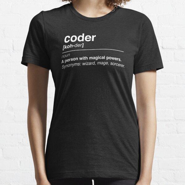 Coder definition Essential T-Shirt