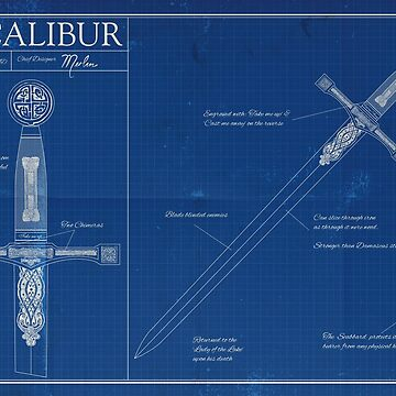 Excalibur - Blueprint by moviemaniacs