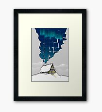 Winter Cottage (No Frame) Framed Print