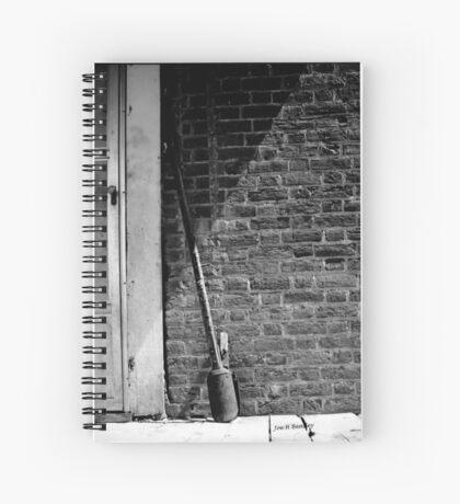 Post Hole Digger Spiral Notebook