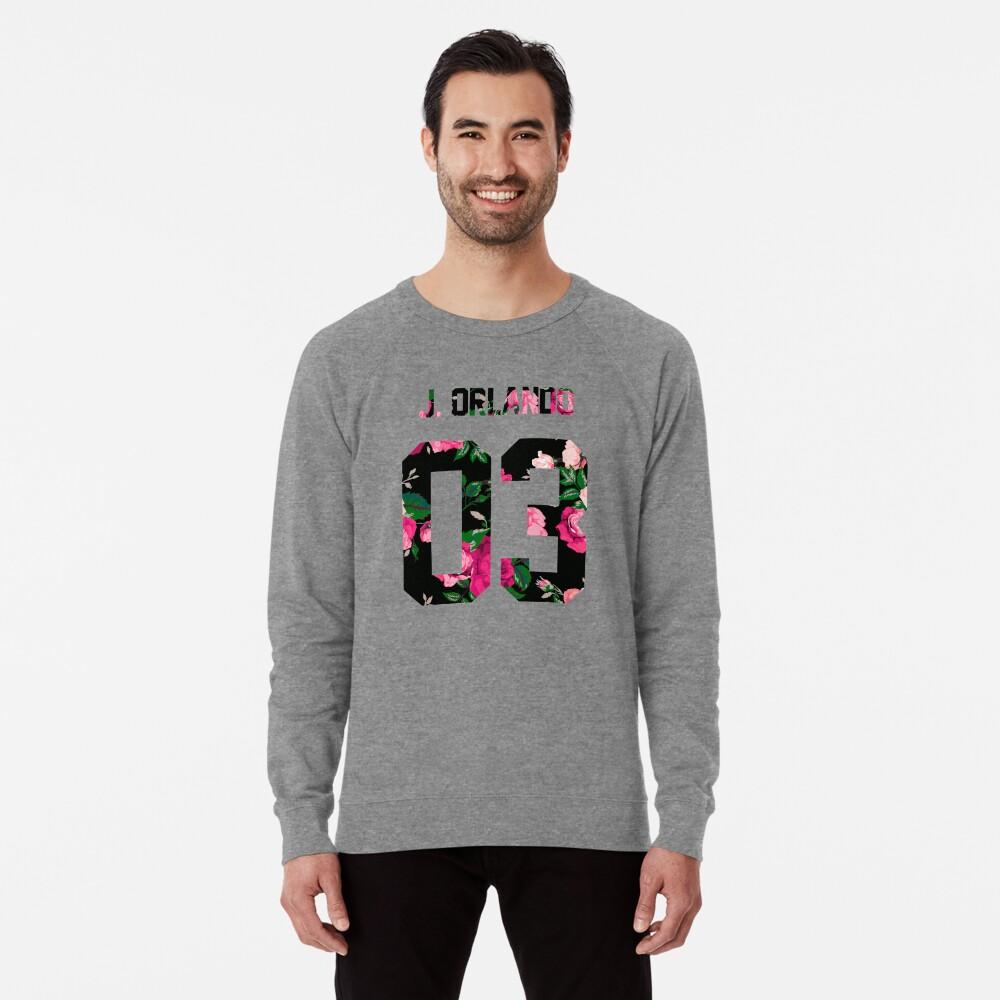 Johnny Orlando - Colorful Flowers Lightweight Sweatshirt