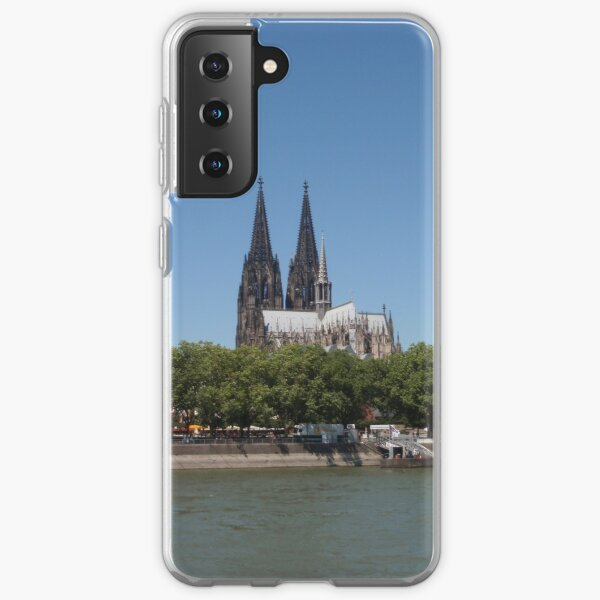 Cologne Cathedral From The Rhine Samsung Galaxy Soft Case