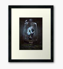 Le Cabinet de Curiosités - mermaid Framed Print