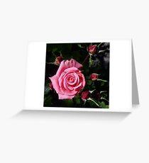 Pink Joy Greeting Card