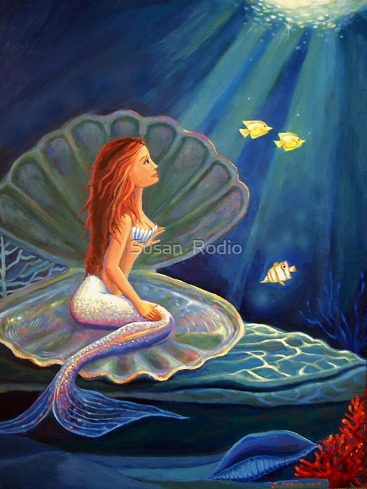 The Clamshell Mermaid  by SusanRodio