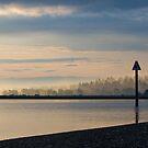 Fog on the horizon by Michael Garson