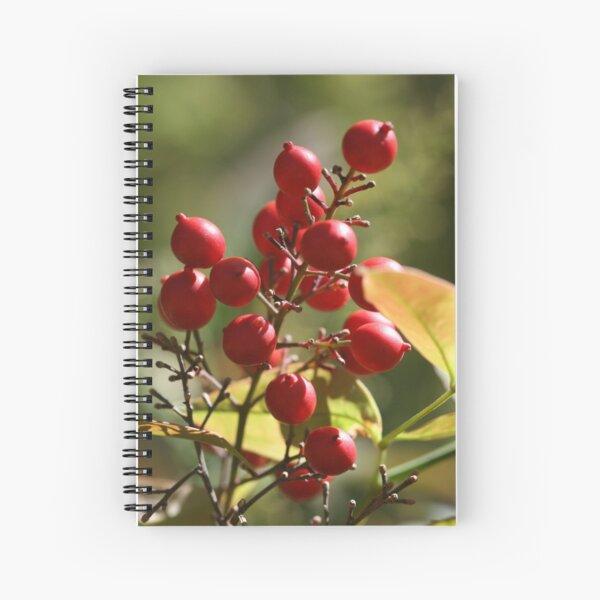 Berry Ripe Spiral Notebook