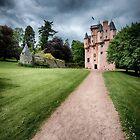 Path to Craigievar Castle by David Bowman