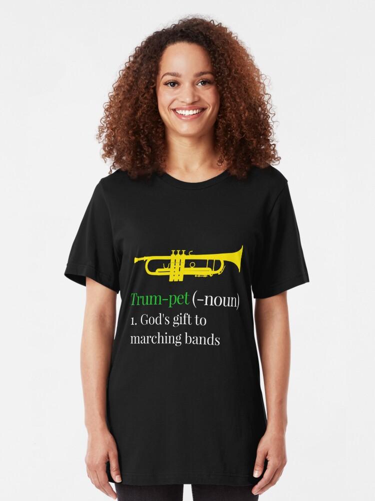 tee Trumpet Definition Marching Band Unisex Sweatshirt
