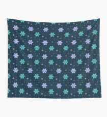 Snowflakes Wall Tapestry