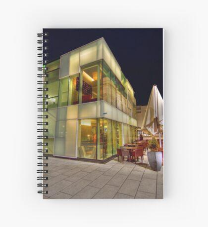 Glass Cafe Spiral Notebook