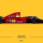 Formula 1 - Jean Alesi - Ferrari 643 by JageOwen