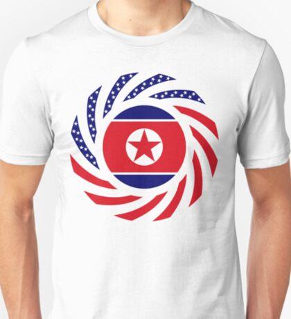 North Korean American Multinational Patriot Flag Series T-Shirt