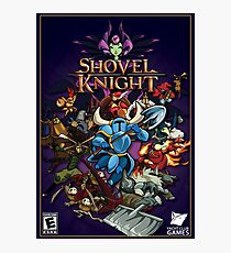 shovel  Knight Inspired Painting  Photographic Print