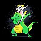 Unicorn T-Rex Dabbing by tobiasfonseca