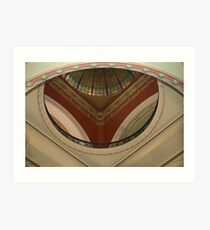 Queen Victoria Building Dome Art Print