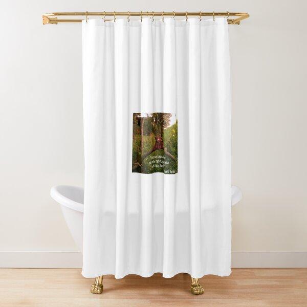 Deano Bears on bridge Shower Curtain