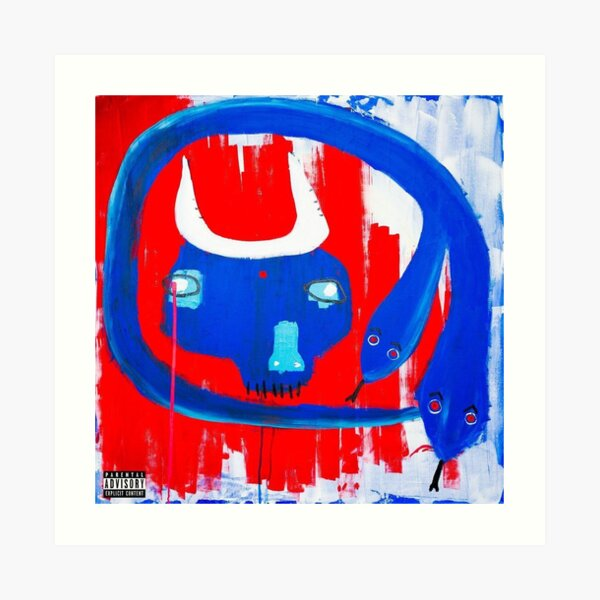 action bronson white bronco Art Print
