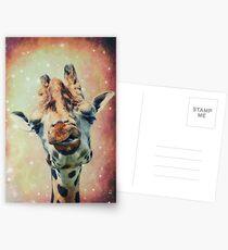 The Giraffe Postcards