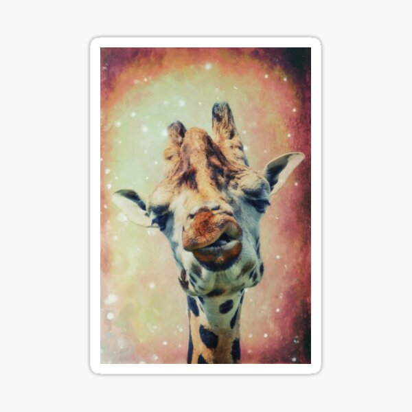 The Giraffe Sticker
