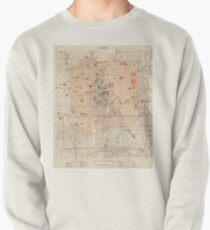 Vintage Map of Beijing China (1903) Pullover Sweatshirt