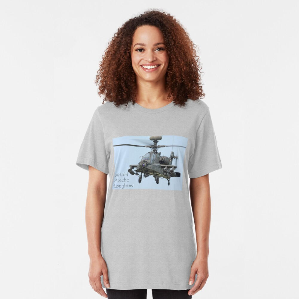 AH-64 Apache Longbow  Slim Fit T-Shirt