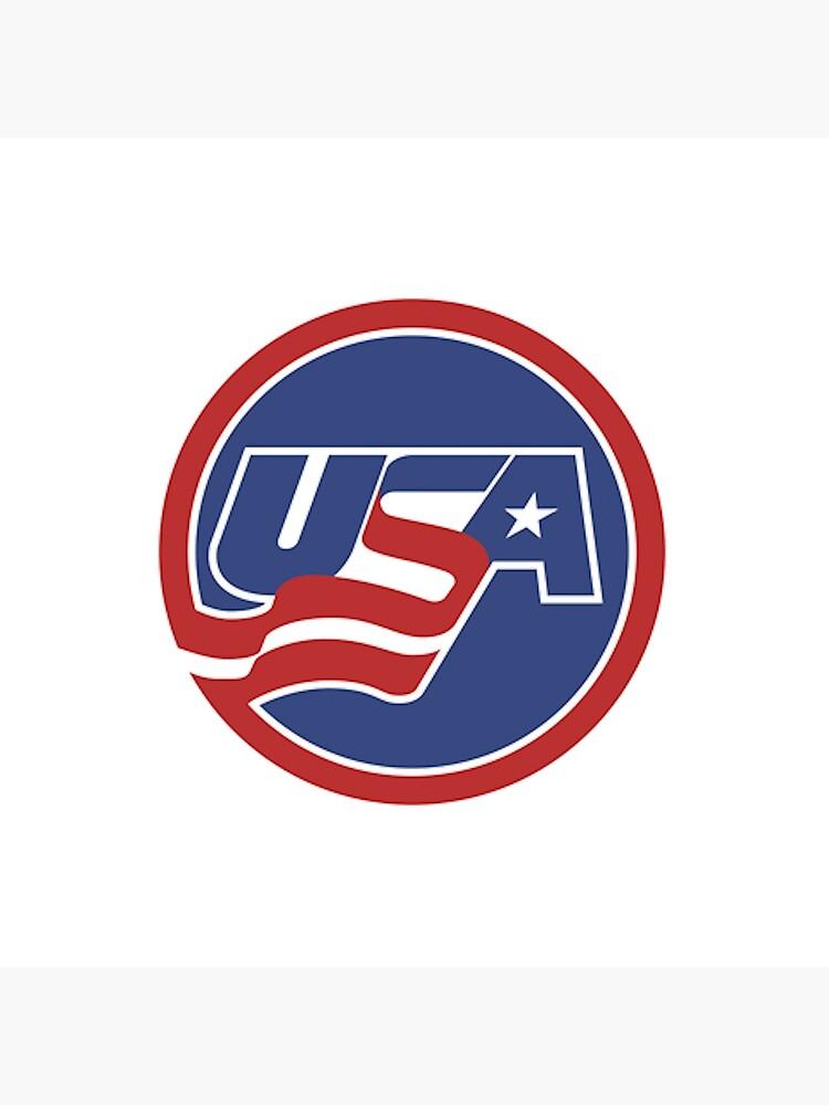 USA Hockey Logo by RobertCrawford